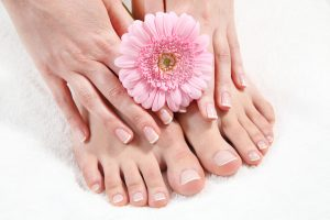 manicure and pedicure, hands & feet
